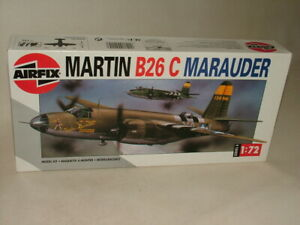 AIRFIX MILITARY AIRCRAFT MODEL KIT 1:72 USA.AF MARTIN B26 C MARAUDER BOMBER