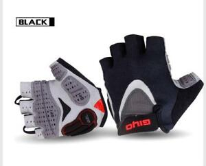 Cycling Gloves Half Finger Shockproof Sport Gym MTB Mountain Bicycle Bike