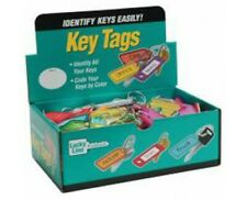 New listing Lucky Line 12300 Key Tag with Tang Ring 100 Per Display Box