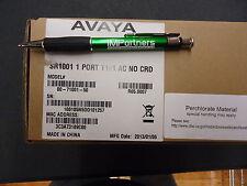 Avaya Sr1001 Secure Router 1001 1Port T1E1. Brand New!