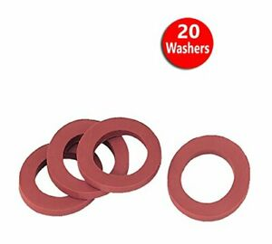 Gilmour Rubber Hose Washers, (20 Washers)...