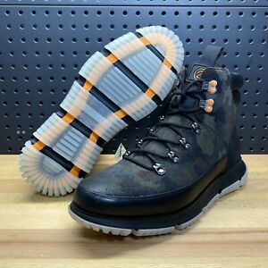Cole Haan 4.Zerogrand Hiker WP Boots 4ZG Camo Insulated C31855 Men's Size 11