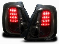 LED taillights REAR LIGHTS set IN SMOKED FINISH for Fiat 500 500C Cabrio