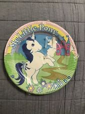 *Sealed* 1984 My Little Pony, Glory, 8 Pc Paper Plates