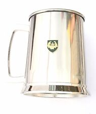 Cameronians Regiment Stainless Steel One Pint Beer Tankard Mug Glass Bkg25