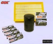 TRANSIT VH VJ 2.3L petrol VAN OIL AIR FILTER SERVICE KIT+SPARK PLUGS 2000-2006