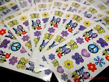 Old Store Stock Water Decals Candle Peace & Love Decoupage School Teacher 100pc