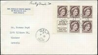 1960 Canada Cover from GALT, ON with 1c Scott #337ai Stamps.