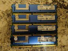 Crucial CT25672AF667 Micron 8GB (4x2GB) PC2-5300F DDR2 ECC Server Memory RAM