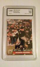 1991 Pro Set Brett Favre Rookie Gem Mint 10 Card