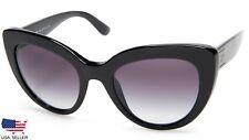 NEW D&G Dolce&Gabbana DG4287 501/8G BLACK /GREY SUNGLASSES 53-21-140 B49mm Italy