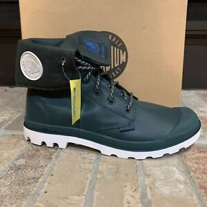 *NEW IN BOX*PALLADIUM Pampa Sport Cuff Baggy Leather Nocturnal/White UNISEX