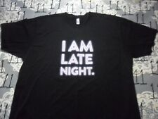 2XL- I Am Late Night Jack-In-The-Box American Apparel Brand T- Shirt