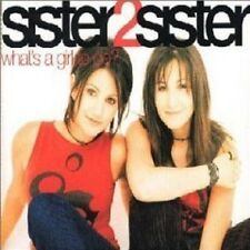 SISTER 2 SISTER What's a Girl to do REMIXES & VIDEO CD Single SEALED to