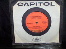 "GLEN CAMPBELL BONAPARTE'S RETREAT - AUSTRALIAN 7"" 45 VINYL RECORD"