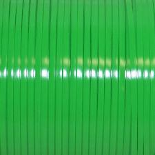 100 YARDS (91m) SPOOL NEON GREEN REXLACE PLASTIC LACING CRAFTS CYBERLOX