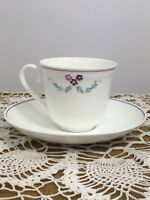 Bel Fiore Villeroy Boch Made in Germany 2 Piece Tea Coffee Cup and Saucer Floral