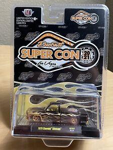 M2 Machines SuperCon 1979 Chevrolet Silverado Squarebody Las Vegas 2021