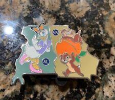 Disney American Adventure State Pin Map Mystery GA AL Puzzle 2018 LR States
