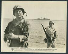 None But The Brave '65 CLINT WALKER BRAD DEXTER WWII WAR SHIP