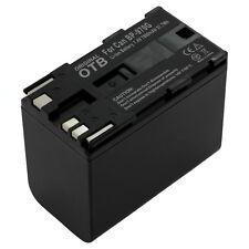 OTB batería 6600mAh 7,4V para Canon XH A1 / XH A1S / XH G1
