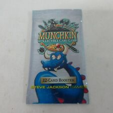 Steve Jackson Games Munchkin Collectible Card Game 12-Card Booster Feb 2018 NEW