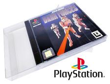 10 X Playstation 1 Boxprotectors / Schutzhüllen ☆ ☆ Super strong !