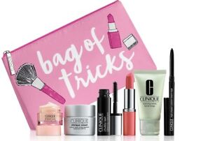 Clinique Bag of Tricks All about eye,Smart Repair,Lipstick,Pencil& More Gift Set