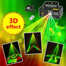 DMX RGB400 3D Effect Gobos Beam Network Laser Light Home Party DJ Stage Lighting