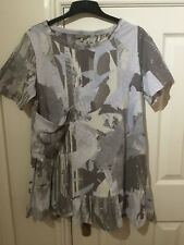 Ladies Next patterned tunic tshirt top NWT size 16