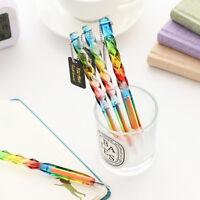 Creative Colorful Gel Ink Pen Transparent Pens Student Office Stationery Nice CJ