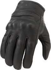 Z1R Men's 270 Leather Motorcycle Riding Gloves