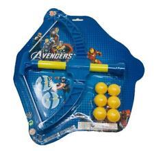 Archery Power Popper Gun with 6 Soft Balls Kids Children Outdoor Playset
