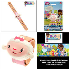 Disney Lambie Doc McStuffins Digital Slap Band Watch with Voice for Kids Girls