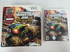 RARE Nintendo Wii Monster Jam 3: Path of Destruction Grave Digger w/ Wheel