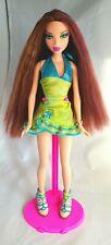 Ultra Rare Chelsea My Scene Doll Tropical Bling Beautiful Long Red Hair
