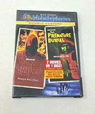 The Masque of the Red Death/Premature Burial (DVD, 2002, Widescreen Double)
