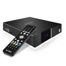 ICY Box IB-MP3011+ Netzwerk MultimediaPlayer (Full-HD, 3,5 Zoll, SATA, 2xUSB 2,0
