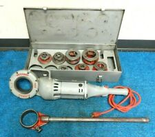 RIDGID 700 Electric Pipe Threader For Threading With 6 Dies in Case