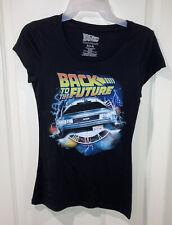 Universal City Studios Back to the Future Junior's Delorean Tshirt Size S (3-5)