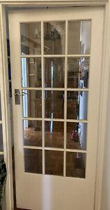 Wooden Door 15 Glass Panels French Door