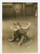 Vintage Photo 4 x 6 Young Girl Taken by Photographer David Bachrach, Jr. 1916