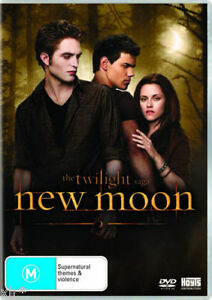 THE TWILIGHT SAGA NEW MOON BOXED DVD WITH BONUS EDWARD T-SHIRT FACTORY SEALED