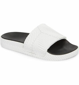 ADIDAS X ALEXANDER WANG Unisex Footwear White Adilette Slides NIB