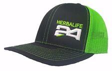 3D PUFF HERBALIFE HAT CAP SNAPBACK CURVED BILL(FREE NAME) RICHARDSON 112