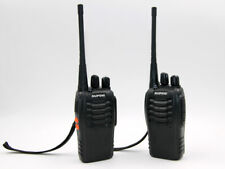 2 walkie-talkie Baofeng ricetrasmittenti portata 1-5 km incluso 2 batterie 2 car