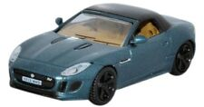 OXFORD DIECAST 76FTYP005, JAGUAR F TYPE BRITISH RACING GREEN METALLIC 1:76 SCALE