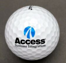 Access Systems Integration Logo Golf Ball (1) Titleist Dt TruSoft PreOwned