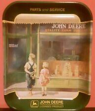 John Deere A Friend in Need Metal Tray 1999 Advertisment Memorabilia Tractor
