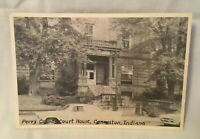 CANNELTON INDIANA Postcard PERRY COUNTY COURT HOUSE CANNELTON IND.